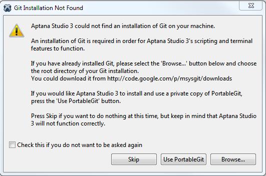 Portable Git