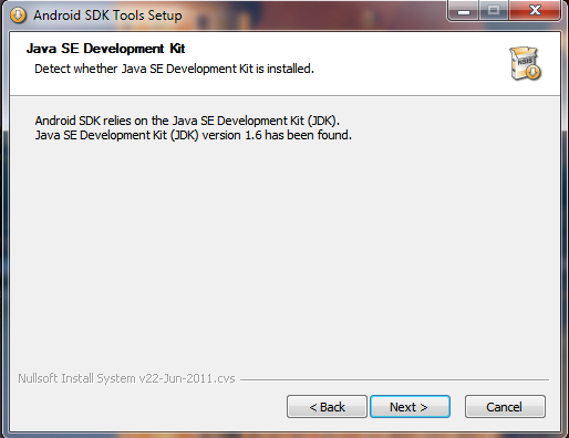 Android SDK: Also doch...
